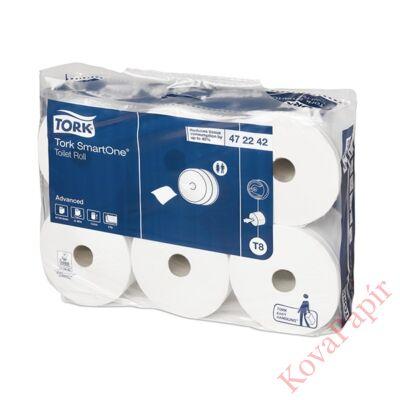 Toalettpapír TORK SmartOne T8 20cm 2 rétegű fehér