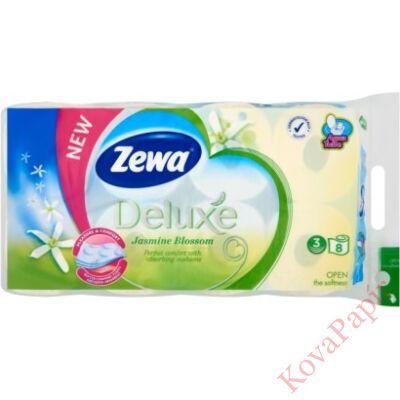 Toalettpapír ZEWA Deluxe 3 rétegű 8 tekercses Jasmine
