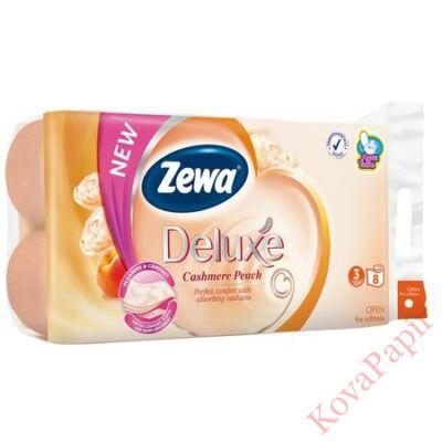 Toalettpapír ZEWA Deluxe 3 rétegű 8 tekercses Cashmere Peach