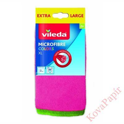 Törlőkendő VILEDA mikroszálas 36x34 cm színes 2 db