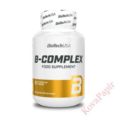 Vitamin BIOTECHUSA B-Complex 60 db tabletta