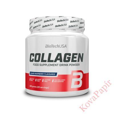 Vitamin BIOTECHUSA Collagen Fekete málna 300 g