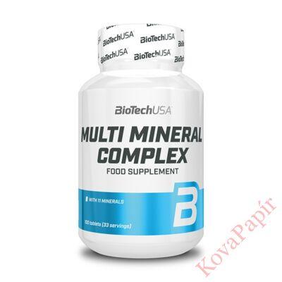 Vitamin BIOTECHUSA Multi Mineral Complex 100 db tabletta