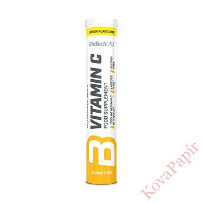 Vitamin BIOTECHUSA Vitamin C pezsgőtabletta 20 db