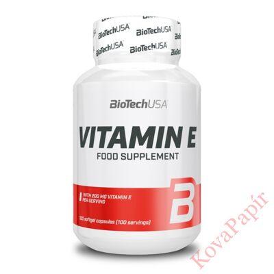 Vitamin BIOTECHUSA Vitamin E400 100 db tabletta